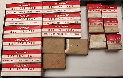 Large Collection of New Old Stock Eversharp Pencil Leads, Mint and Boxed.