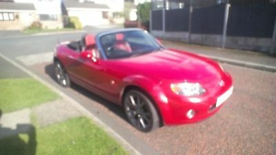 2005 (Mazdamx-5 Mk3 Nc 2.0 Sport Launch Edition  Velocity Red Fsh A/c