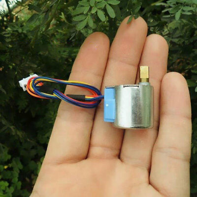 2/5pcs 20mm 4-phase 5-wire Stepper Motor DC6V With Gearbox 20BYJ01-130HR Monitor