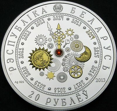 BELARUS 20 Roubles 2013 Proof - Silver - The Year of the Horse - 1812 ¤