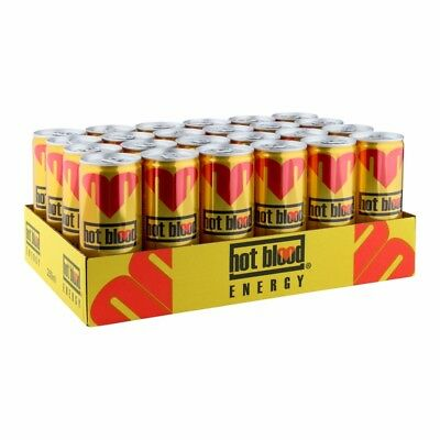 Hot Blood - Energy Classic 24x 250ml