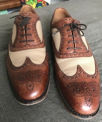 Cheaney Two-Tone Oxfords UK 7,5 Rarität, TOP
