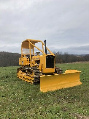 John Deere 350 C With Arch And Winch