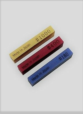 1 each 180,400,and 1000 Grit Fret polishing  Rubber Erasers Ships from USA VWWS