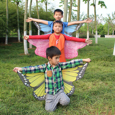 Chamsgend butterfly wings shawl kids boys girls costume accessory  BC