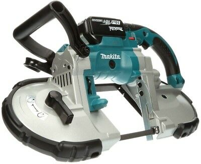 Makita Band Saw 18-Volt LXT Lithium-Ion Cordless Portable Nickel Plated Blades