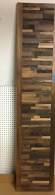 "Custom Wood Door/Wall Art, 24"" Wide by 84"" Tall, Hand Built, No Signs of Wear"