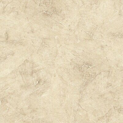 Faux Marble Textured Wallpaper KT15510 washable light tan solid vinyl prepasted