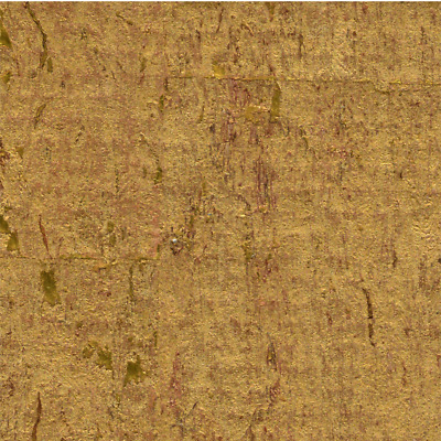 real natural cork wallpaper MPC113 acoustical with metallic gold 72 sq ft