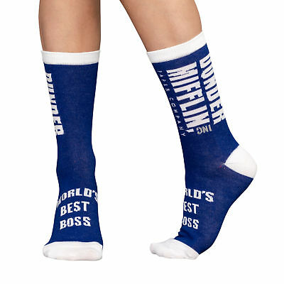 The Office Dunder Mifflin Crew Adult Unisex Socks