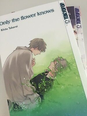 Only the flower knows Band 1+2 Manga Deutsch