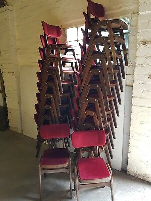 Vintage stacking chairs