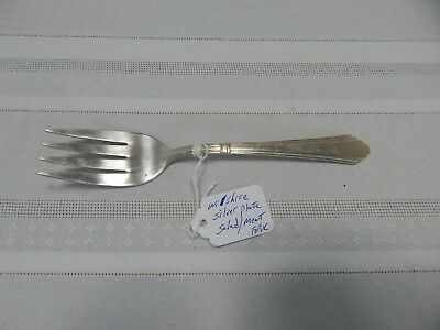 Vintage! Wilshire Silverplate Salad/Meat Fork Patttern: Wilshire Circa:1933s.