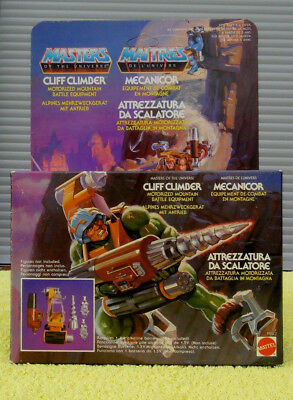 CLIFF CLIMBER motu MASTERS OF THE UNIVERS mit OVP He.man Skeletor Grayskull 1 it