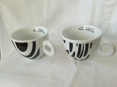 Original Illy Cappuccino Cups  Made In Italy