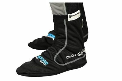 Oxford Chillout Windproof Motorcycle Socks Black Small LA430