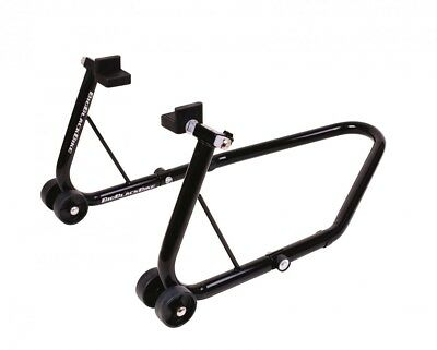 Oxford Big Black Bike Paddock Stand for Wheels Up To 17'' Black Rear SP821