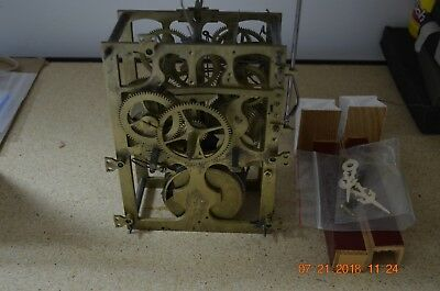 ANTIQUE Wide CUCKOO CLOCK MOVEMENT from Shelf/Mantle Cuckoo Clock fully working