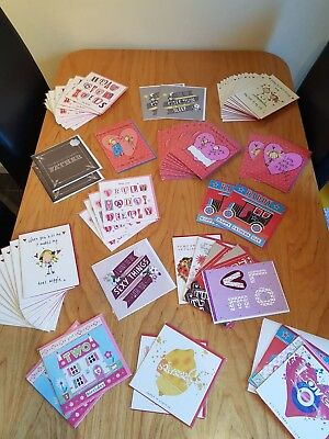 VALANTINES DAY CARDS - Job Lot & Wholesale Of Valentines Day Cards NEW! x 70