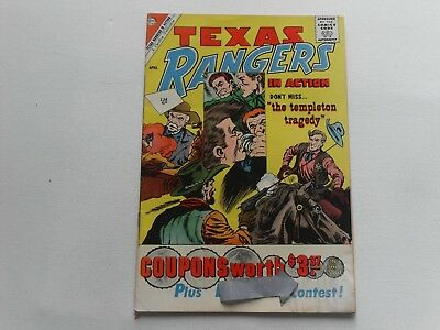 Texas Rangers  In Action   #27  Apr 1961   Charlton Western