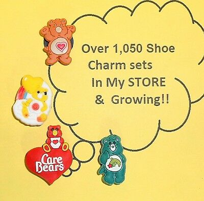 Care Bears  Shoe Charms put in Your Crocs   auction