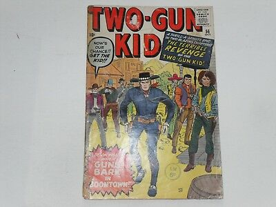 Two-Gun Kid  #56  Oct 1960  Atlas / Marvel Western    Kirby & Ayers Cover