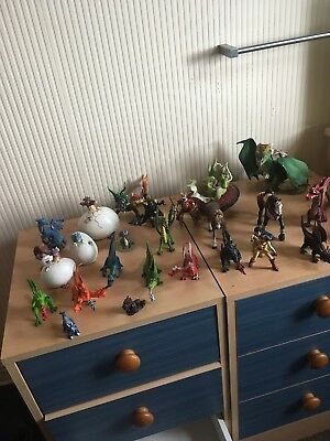 Schleigh  knight figures and dragons bundle  (some not schleigh)