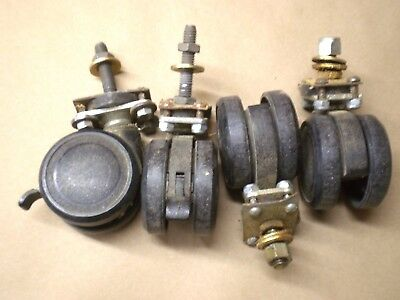 FULL SET [4] Swiveling Casters for Sears Craftsman Table Saw or Radial Arm Saw .