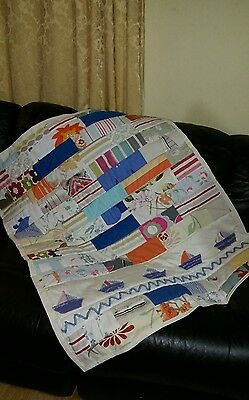 Handmade Patchwork baby  Cot, Crib, Lap quilt,  throw.