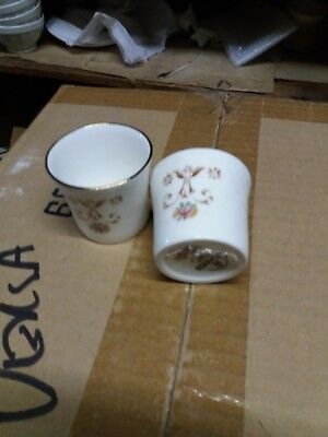 Queens Bone China Olde England Egg Cups x 2.