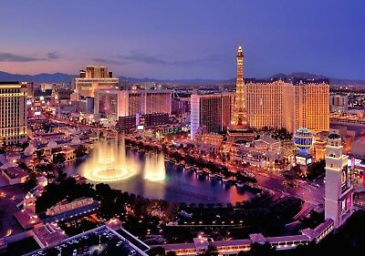 Holiday package for 2 with a value of £2,800 to Las Vegas. All inclusive!