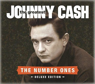 Johnny Cash The Greatest : The Number Ones Deluxe CD/DVD