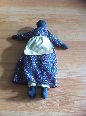 Vintage Black Americana Cloth & Crochet Rag Doll Lot!
