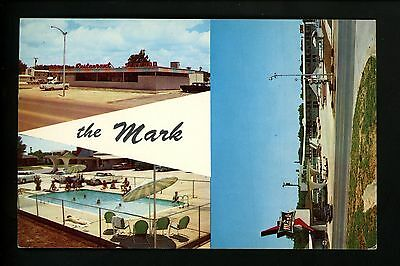 Oklahoma OK postcard Mark Motor Hotel & Restaurant, Weatherford US Route 66