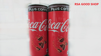 Coca Cola PLUS COFFEE 250ml ×2 Japan Limited Edition new product