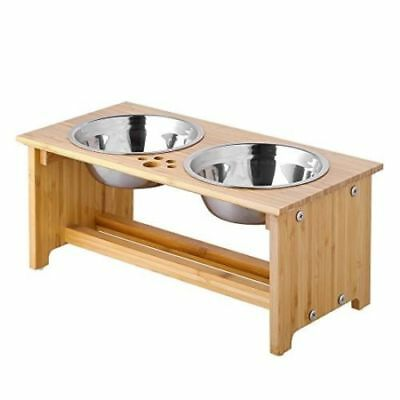 7inch Height Raised Pet bowls for Cats and Dogs Eating Food and Water