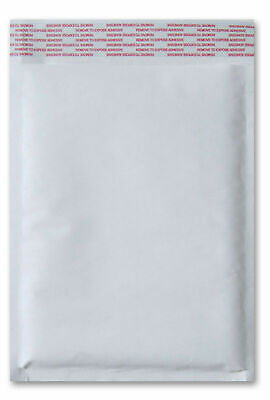 """White Kraft Bubble Mailer 5"""" x 10"""" ( #00 ) Shipping Mailing Bags 250 Pieces"""