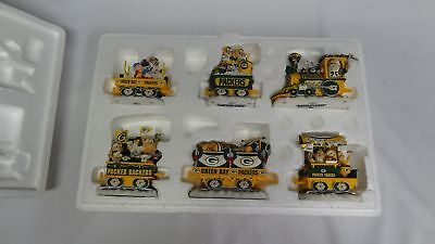 Green Bay Packers NFL Football Collector Christmas Express Train Danbury Mint ✔