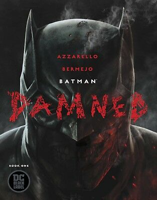 Batman Damned #1 Cover A  Dc Black Label Uncensored Sold Out! 1St Print