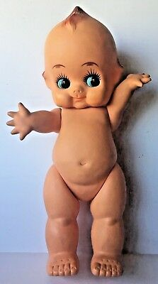 Rare Vintage Antique Collectible Large 23 Kewpie Doll Baby Cupie Display Cameo