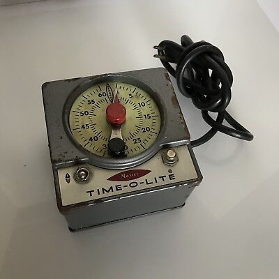 Vintage Master Time-O-Lite M-59 750 Watts, *WORKS!