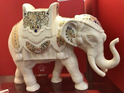 New Lenox China Jewels Elephant Nativity