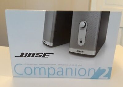 New Bose Companion 2 Series II Multimedia Speaker System