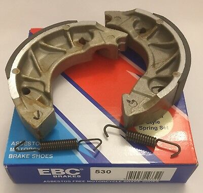 Yamaha XC125 E Vity (2008 to 2013) EBC REAR Brake Shoes (Y530) (1 Pair)