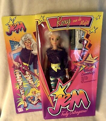 Vintage 1986 Jem And The Holograms Doll Roxy Hasbro Dutch Edition Rare