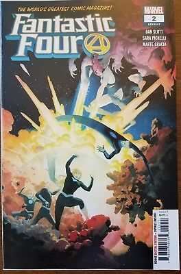 Fantastic Four #2 2018 1st Print NM 25% OFF!