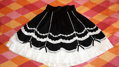 Gonna Gothic Lolita Japan Princess Bodyline Harajuku Giappone