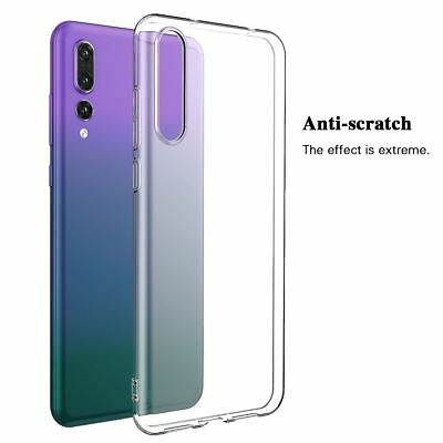 Shockproof TPU Protective Clear Gel Cover Case For Huawei P20 Pro P Smart Lite