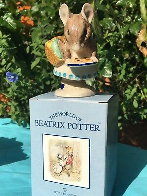 Royal Doulton - Beatrix Potter - APPLEY DAPPLY - 1971