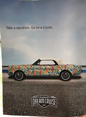 2018 Woodward Dream Cruise Poster